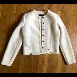 Vintage Austrian Cream Wool Sweater